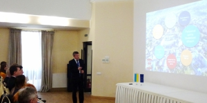 Zhovkva Team Reports to the Residents about Project Implementation